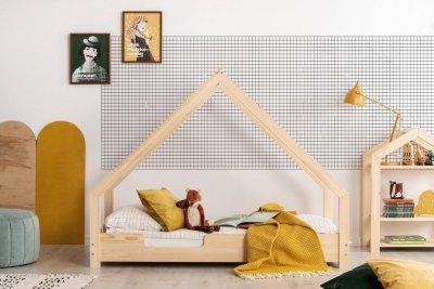 Loca C 70x170cm Łóżko dziecięce drewniane ADEKO
