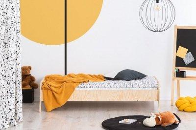 KIKI 9  90x170cm Łóżko dziecięce drewniane ADEKO