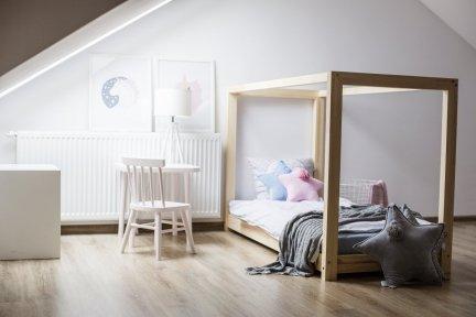 Łóżko drewniane Mila KM 100x200cm