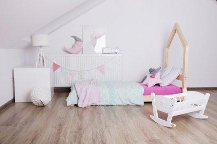 Łóżko dziecięce domek Mila SM 100x180cm ADEKO