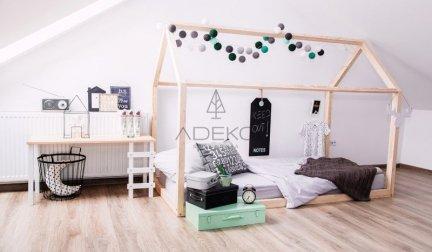 Łóżko dziecięce domek Mila NM 90x140cm ADEKO