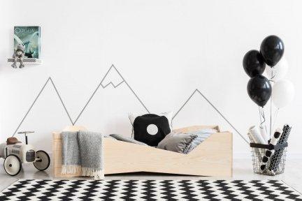 BOX 5 100x180cm Łóżko drewniane dziecięce