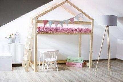 Łóżko drewniane Mila DMPBA 90x200cm