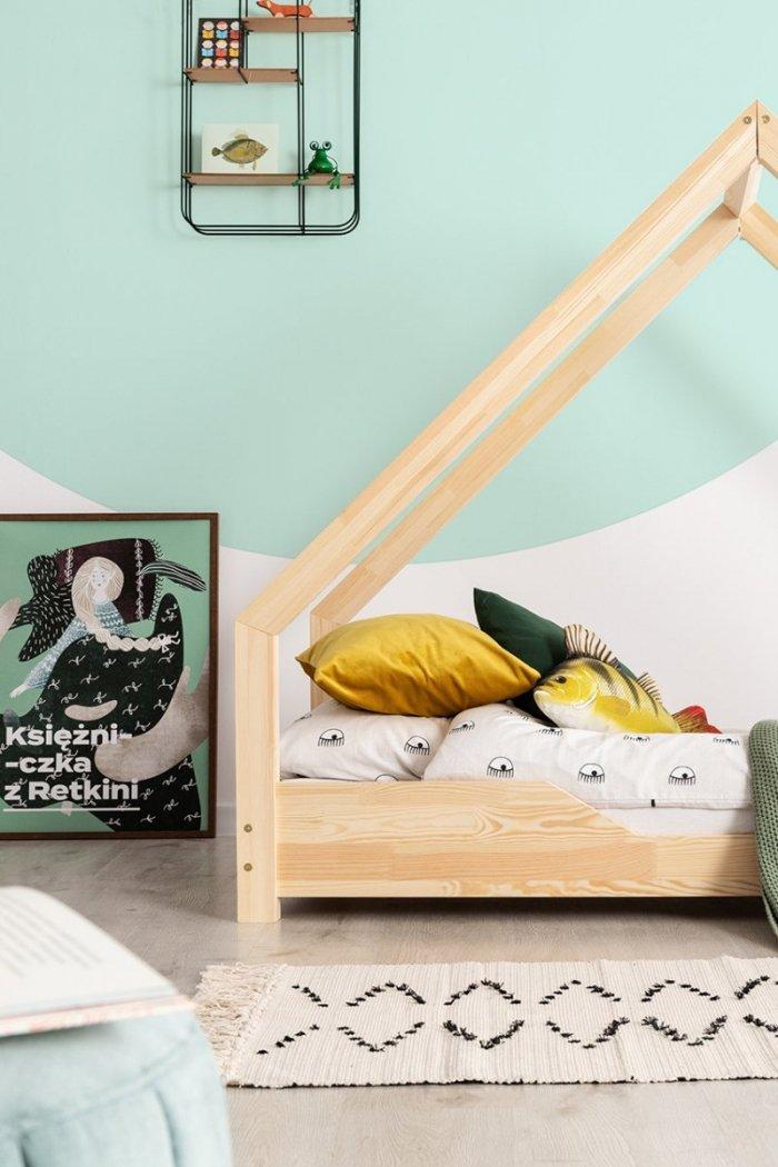 Loca B 90x190cm Łóżko dziecięce drewniane ADEKO