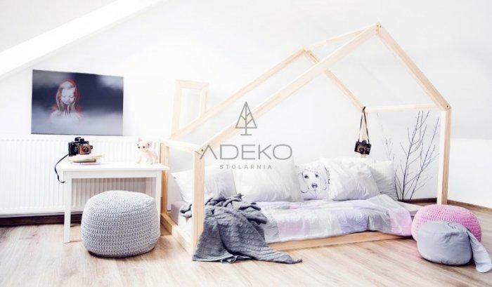 DMM 90x160cm Łóżko dziecięce domek Mila ADEKO