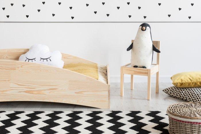 BOX 6 100x190cm Łóżko drewniane dziecięce