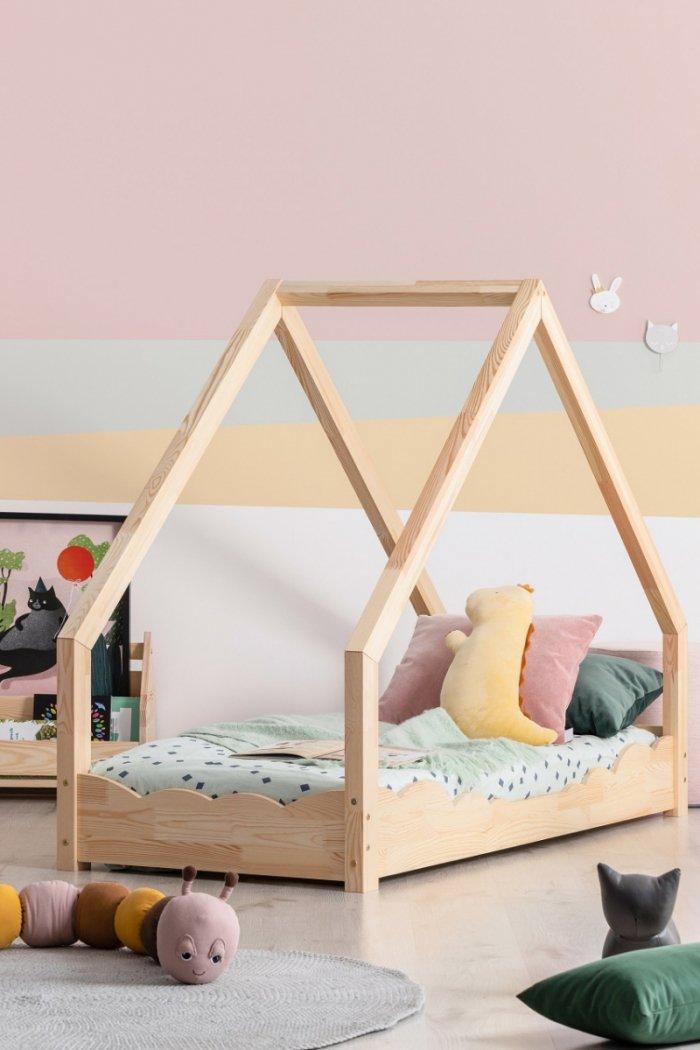 Loca D 90x140cm Łóżko dziecięce drewniane ADEKO