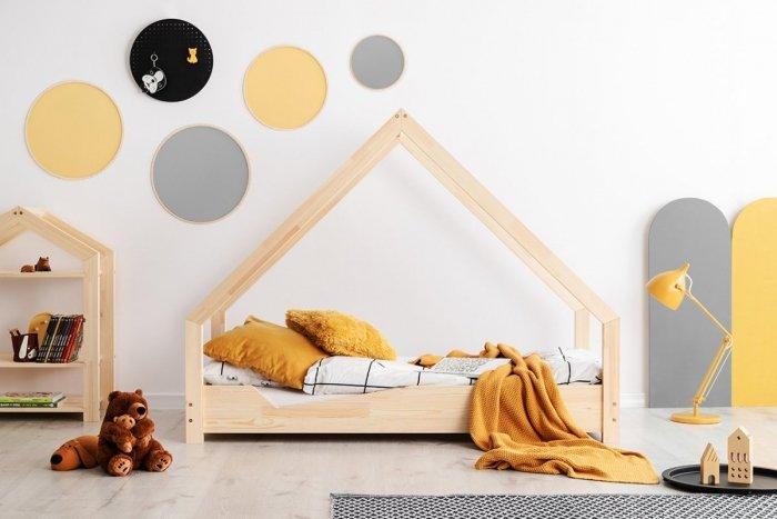 Loca A 80x200cm Łóżko dziecięce drewniane ADEKO