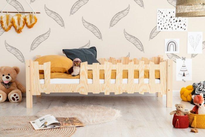 Pikko B 80x190cm Łóżko dziecięce domek ADEKO