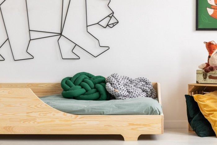 BOX 4 90x160cm Łóżko drewniane dziecięce