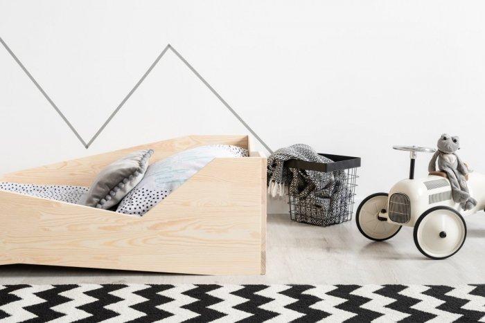 BOX 5 80x150cm Łóżko drewniane dziecięce