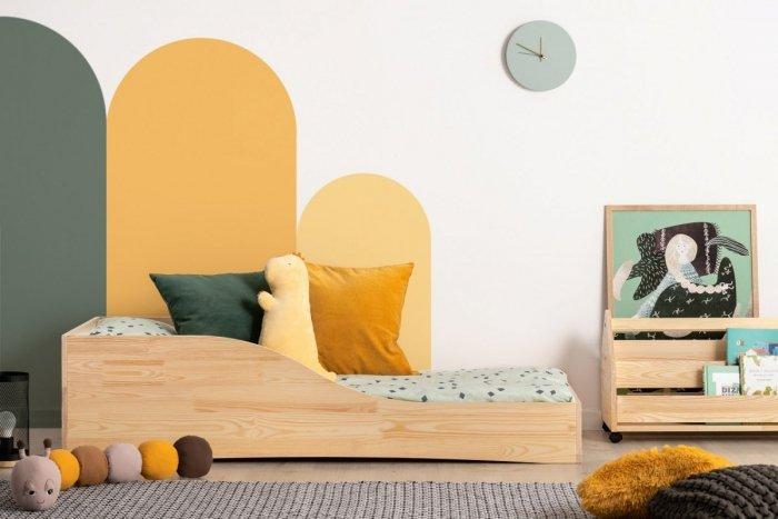 PEPE 3 60x120cm Łóżko drewniane dziecięce