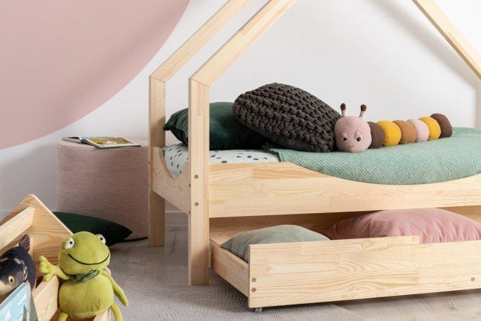 Loca E 90x180cm Łóżko dziecięce drewniane ADEKO