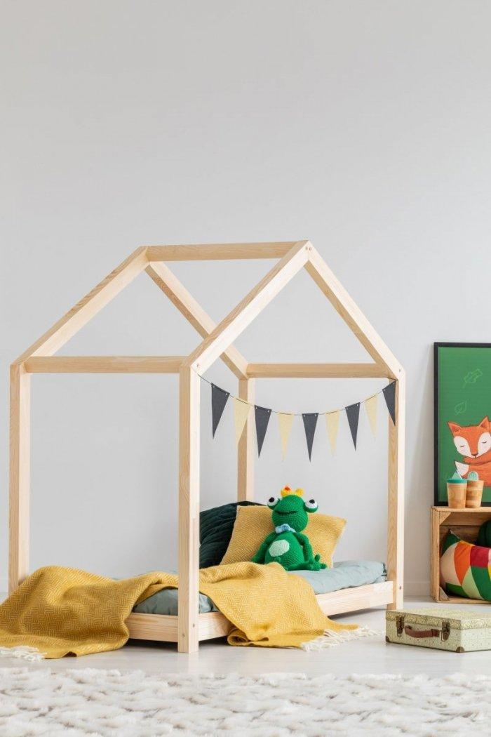 Mila RM Duży rozmiar - Łóżko dziecięce domek ADEKO