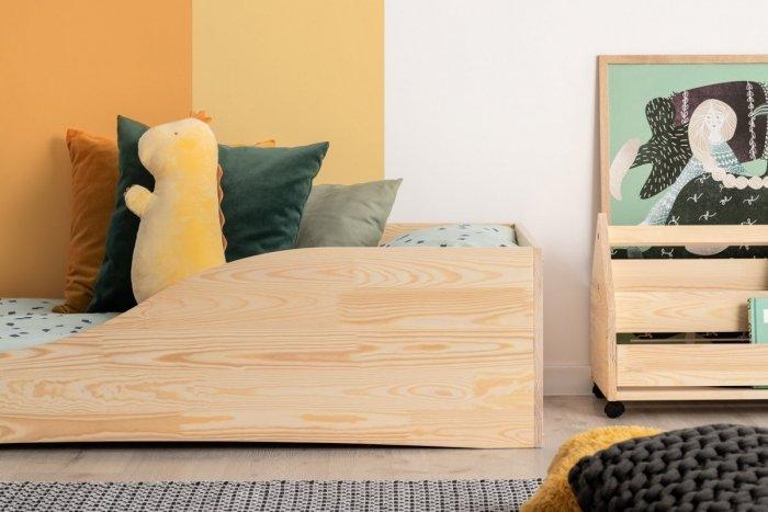 PEPE 3 90x200cm Łóżko drewniane dziecięce