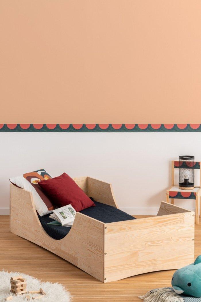 PEPE 2 70x140cm Łóżko drewniane dziecięce