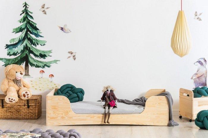 PEPE 6 100x170cm Łóżko drewniane dziecięce
