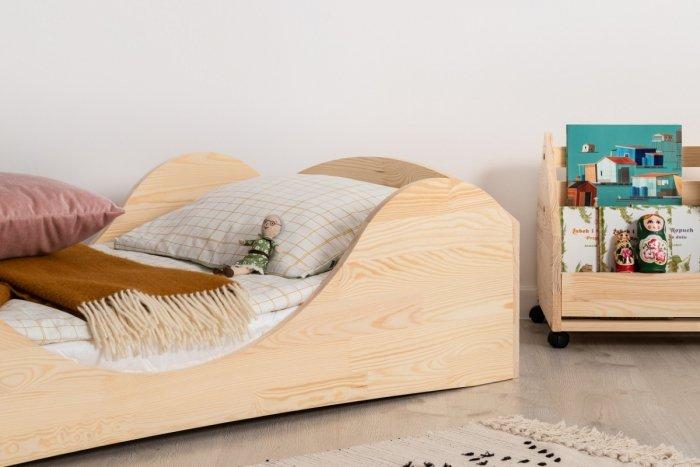 PEPE 1 100x200cm Łóżko drewniane dziecięce