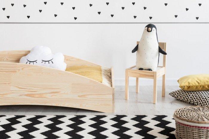 BOX 6 90x200cm Łóżko drewniane dziecięce