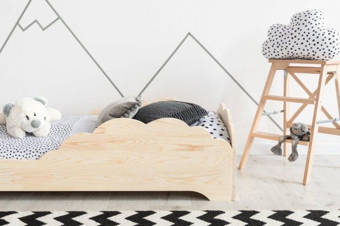 BOX 9 80x180cm Łóżko drewniane dziecięce