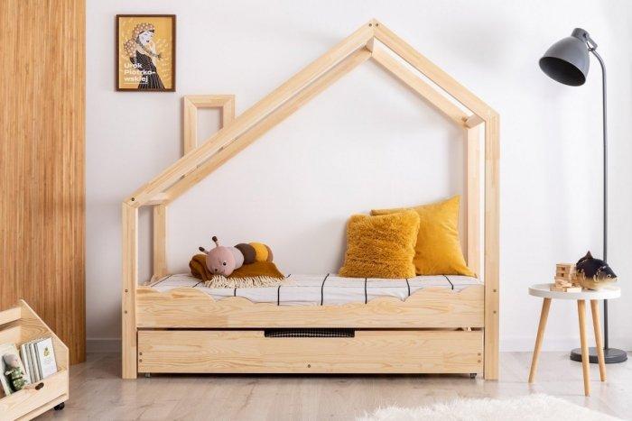 Luna D 90x190cm Łóżko dziecięce domek ADEKO