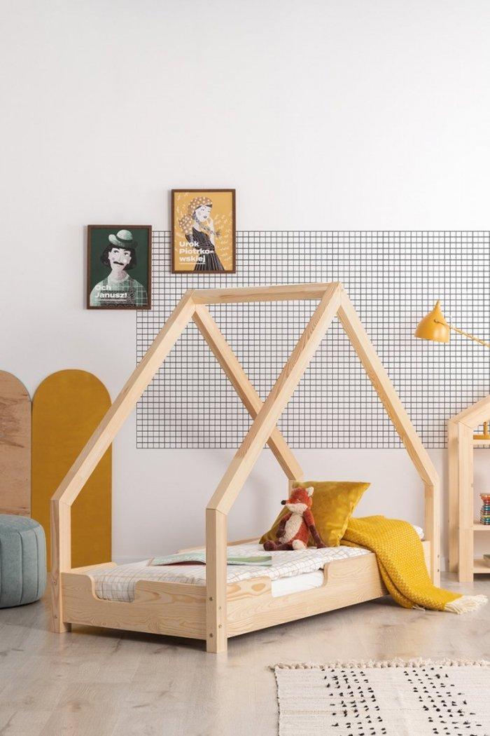 Loca C 100x180cm Łóżko dziecięce drewniane ADEKO