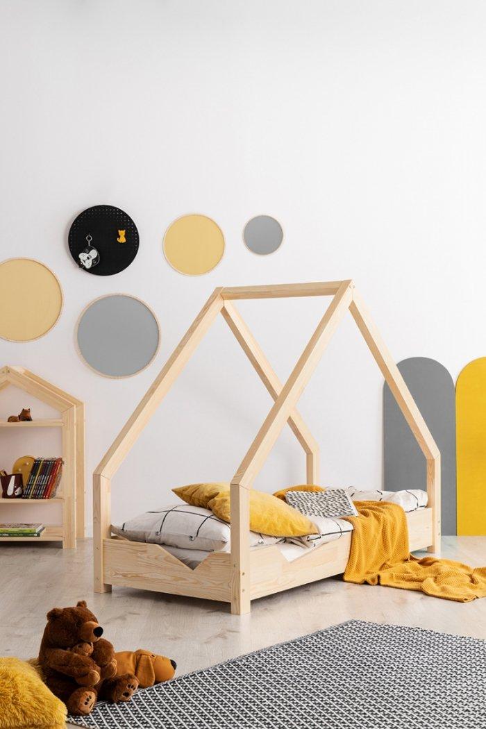 Loca A 90x180cm Łóżko dziecięce drewniane ADEKO