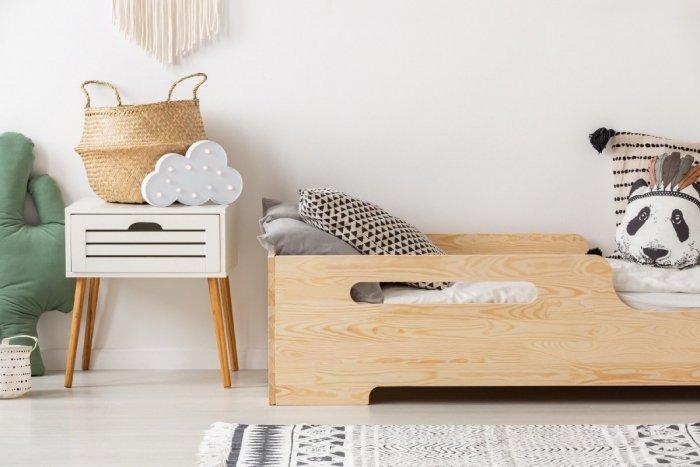 BOX 2 90x170cm Łóżko drewniane dziecięce