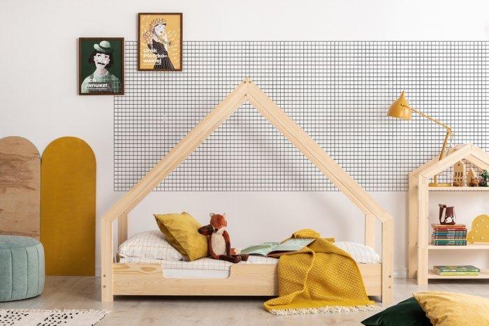 Loca C 90x200cm Łóżko dziecięce drewniane ADEKO