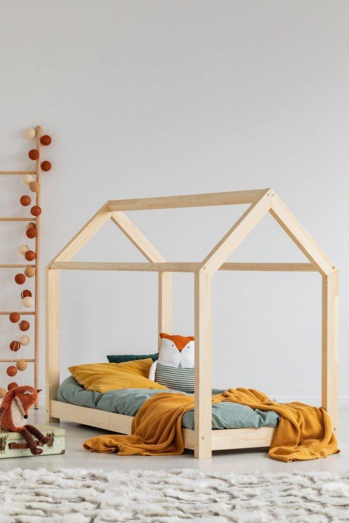 Mila MM 120x200cm Łóżko dziecięce domek ADEKO