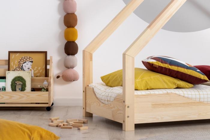 Loca E 90x190cm Łóżko dziecięce drewniane ADEKO