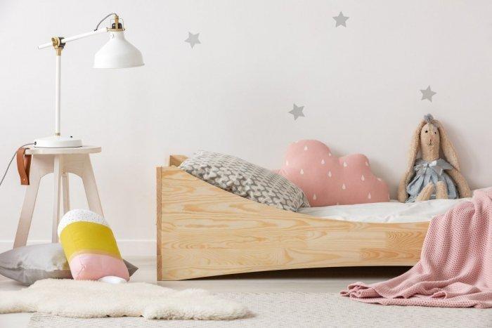 BOX 3 100x190cm Łóżko drewniane dziecięce