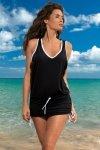 Sukienka plażowa Marko Elsa Nero M-313 Czarna (284)