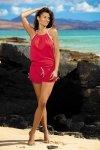 Tunika plażowa Marko Leila Anaranjado M-312 czerwona (291)