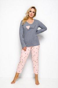 Taro Lena 146 grafitowy piżama damska