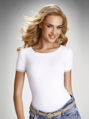 Eldar Arabella Biała bluzka damska
