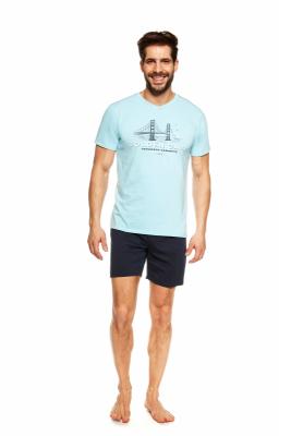 Henderson Joke 36826-50X Niebieska piżama męska