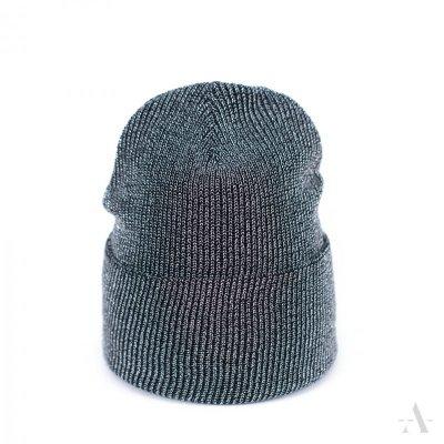 Art of Polo Street Fashion Czarno-srebrna czapka