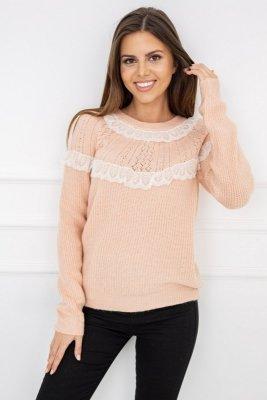 Vittoria Ventini Mona Light Coral Y5202 sweter damski