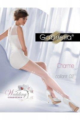 Gabriella 305 charme 02 bianco rajstopy