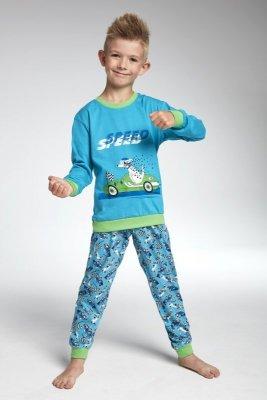 Cornette 593/75 Speed turkusowy piżama chłopięca