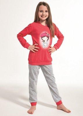 Cornette Kids Girl 594/108 Girl With Cat 86-128 piżama dziewczęca