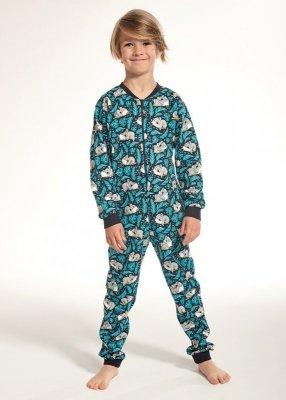 Cornette Kids Boy 185/99 Koala 2 dł/r 86-128 kombinezon- piżama chłopięca