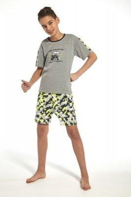 Cornette 217/74 kids jeep melanż piżama chłopięca