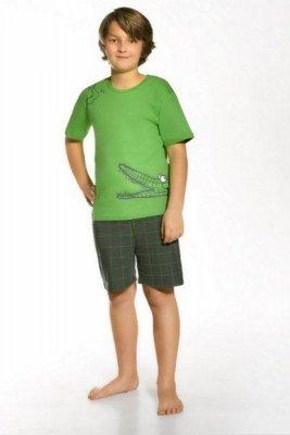 Cornette 790/34 Hungry crocodile zielony piżama chłopięca