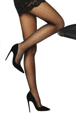 Livia Corsetti Orit 8 DEN Black Rajstopy
