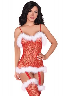 Livia Corsetti Bodystocking Catriona Christmas