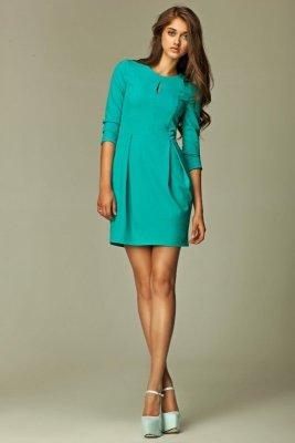 Nife Camille s32 morska sukienka
