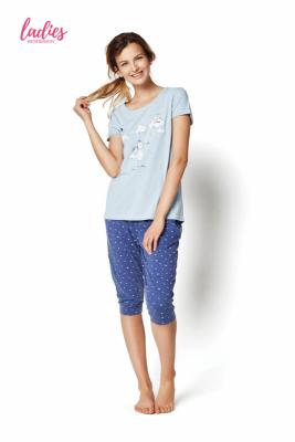 Henderson Rakel 35255-50X Niebieska piżama damska