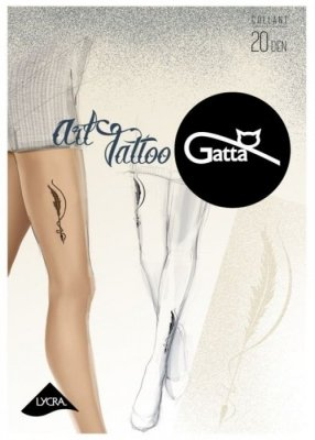 Gatta Art Tattoo 04 rajstopy